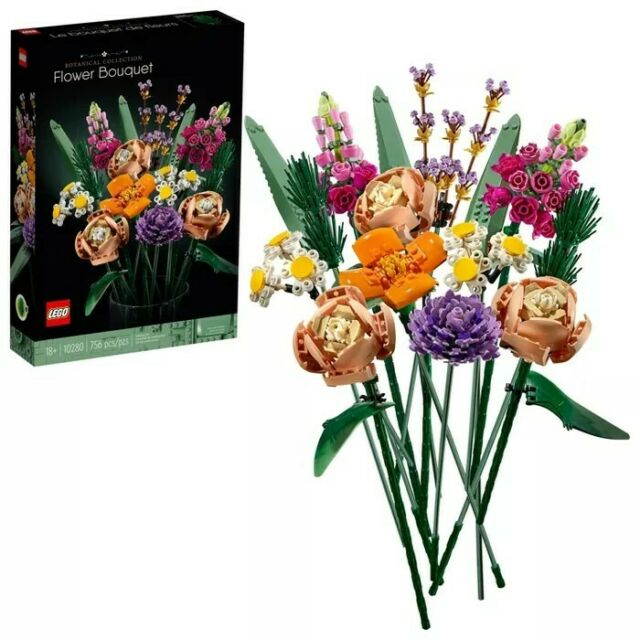 LEGO Flower Bouquet 10280 Building Kit (756 Pieces) Brand New - Free Shipping