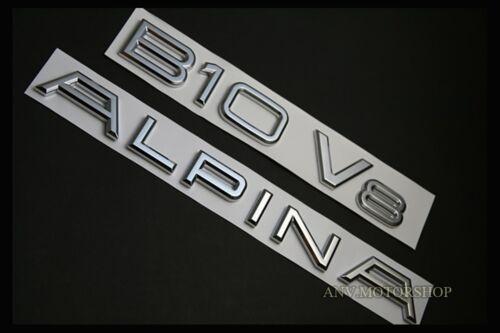 NEW AlPINA B10 V8 EMBLEM BADGE LOGO FOR BMW 5-Series E34 E39 E60 E61 F10 F11