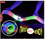thumbnail 4 - Glow-in-The-Dark-Race-Flexible-Tracks-Set-with-Electric-Car-144-Pieces-with-Lig