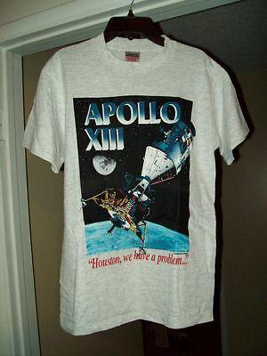 RARE KIDS-YOUTH APOLLO XIII (13) MOVIE PREMIERE T-SHIRT LARGE (14-16) NASA HANKS