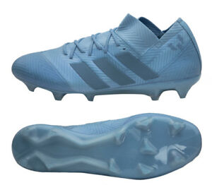 pretty nice e3ec1 1d770 Image is loading Adidas-Nemeziz-Messi-18-1-FG-DB2089-Soccer-