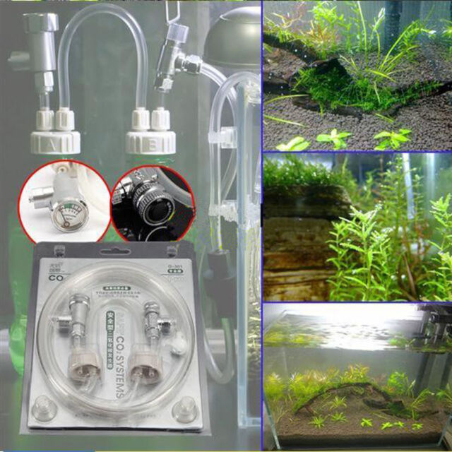 Professional D301 Aquarium Water Plants DIY CO2 Generator System Kit
