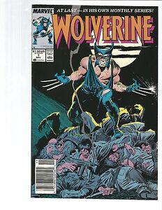 Wolverine 1 (1988) NEWSTAND !!! CLASSIC!!