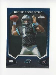 2011-Topps-Chrome-Rookie-Recognition-RRCM-Cam-Newton-RC-Panthers