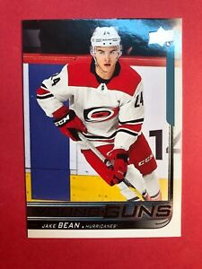 2018-19-Upper-Deck-Update-Hockey-Young-Guns-513-Jake-Bean-Rookie-Carolina-RC