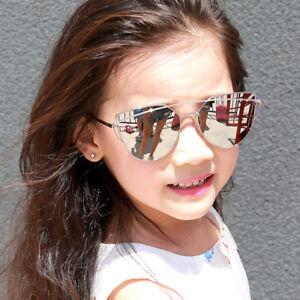 eeda232ab70 Image is loading Kids-Fashion-Sunglasses-Luxury-Metal-Frame-Eyewear-Boys-