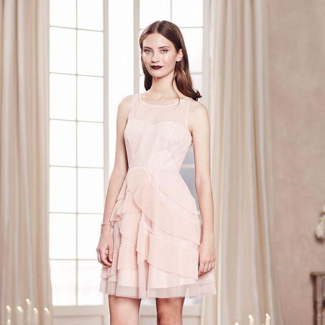 Lc Lauren Conrad Black Floral Mockneck Shift Dress Size 812nwt