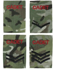 Kombat-ACF-CCF-Army-amp-Combined-Cadet-Force-Rank-Slides-BTP-MTP-1-Pair