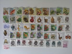 50-Different-Ukraine-Stamp-Collection-Post-1991