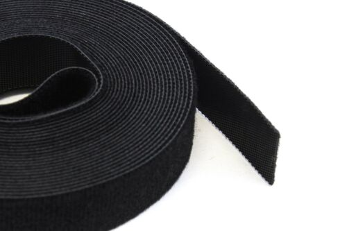 "15FT REUSABLE .75/"" 3//4/"" Roll Hook /& Loop Cable Fastening Tape Cord Wraps Straps"