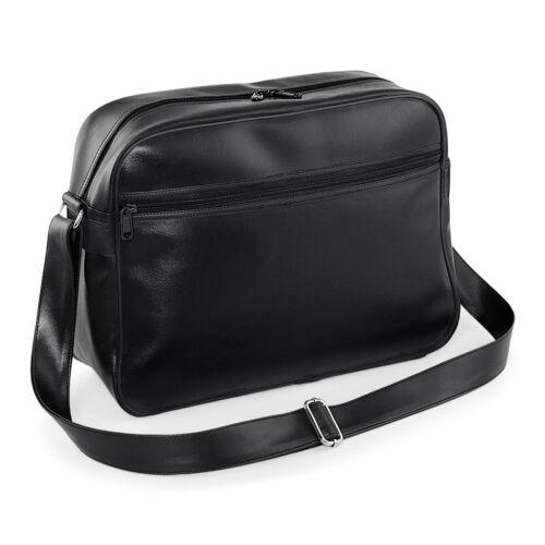 super Bag de tissu noir qualité Messenger noir rouge blanc supérieure lisse blanc Retro Sac bg91 marine authentique en Original Bagbase 8xwpqtAxP
