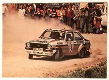 Cartolina Ford Auto Rally