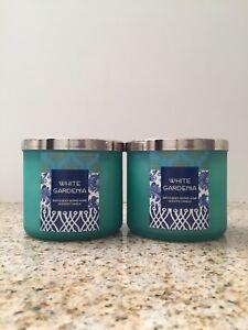 Bath And Body Works Bbw 3 Wick Candle White Gardenia With