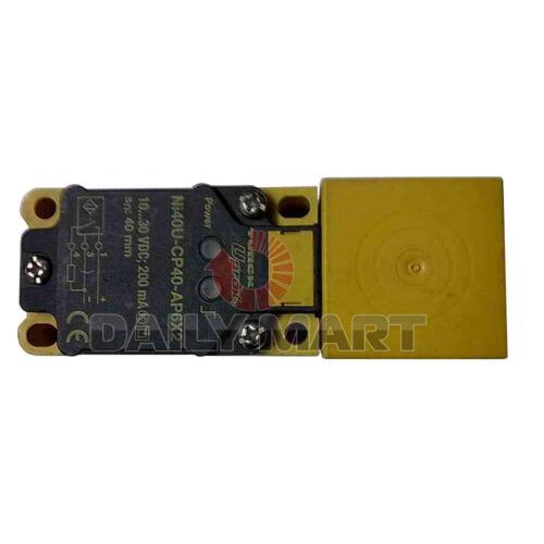 Nouveau TURCK NI40U-CP40-AP6X2 rectangulaire Capteur nonembeddable uprox 3 fils DC pnp