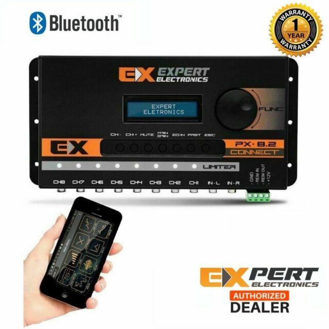 Processador Expert PX8.2 Connect Bluetooth Crossover Digital Car Audio