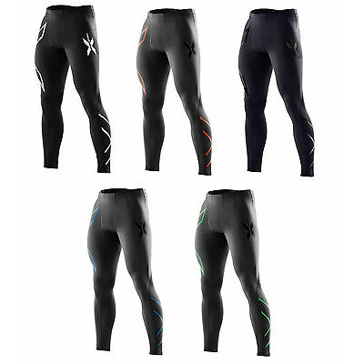 New 2XU Men Compression Tights Men Running Pants Sport Tight SELECT SIZE / COLOR