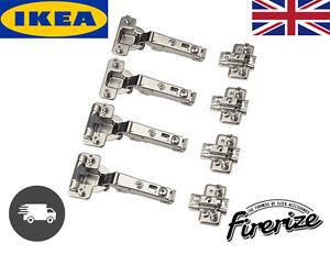 Ikea Komplement Pax Wardrobe Hinges 4 Pack Standard
