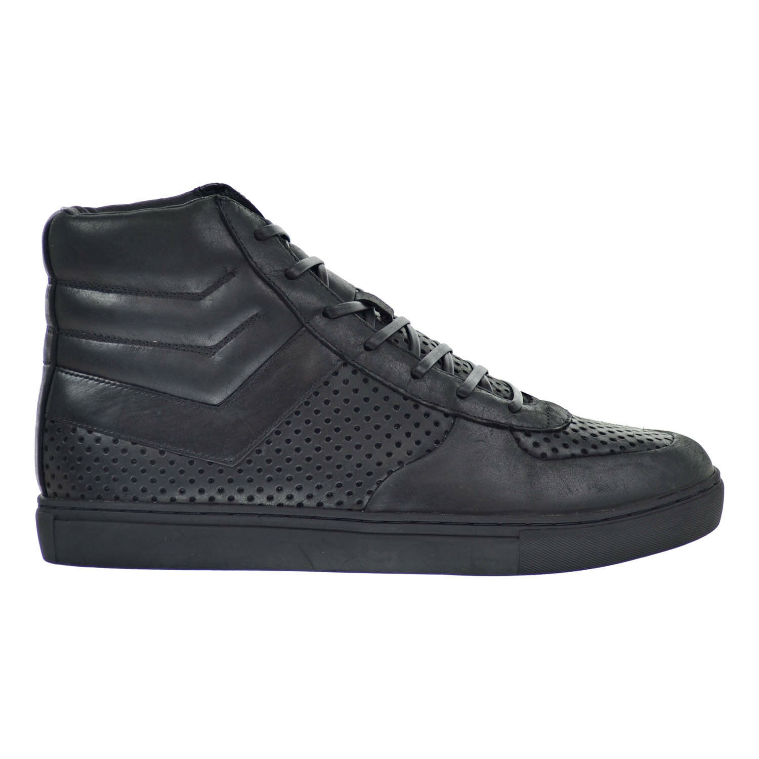 PONY Product Of New York Mercer hommes Chaussures noir Mono Chrome 0710019-a48