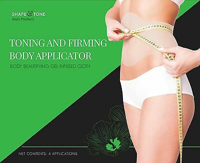 Toning and Firming Body Applicator 4 Body Wraps It Works to Firm Tone Tighten
