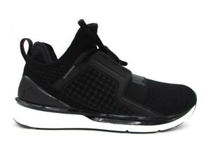 PUMA IGNITE LIMITLESS WEAVE SNEAKERS NERO BIANCO 190503 02