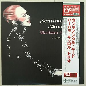 BARBARA-CARROLL-TRIO-sentimental-mood-LP-200g-Vinyl-JAPAN-VENUS-TKJV-19163-OBI