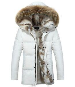 Fleece Hooded Duck Winter Coat Fur Women's Hot Parka Outerwear Jacket Down RwT5HqxS