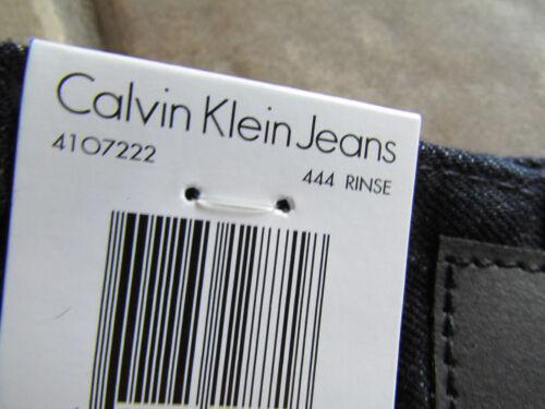 637865128718 Denim Ship Jeans 34x30 Nouveau 4107222 Klein Straight Free Mens Calvin Rinse Stretch RRf76