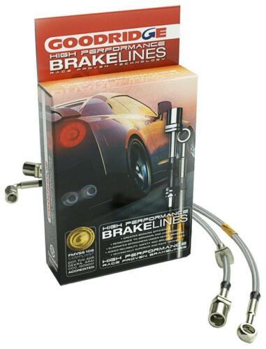 Goodridge G-Stop SS Brake Line Kit for 2015-2017 Chevrolet SS