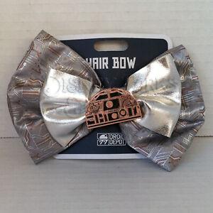 Disney-Parks-Interchangeable-Ears-Star-Wars-Galaxy-039-s-Edge-Droid-Circuit-Bow