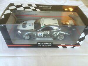 1.18 Échelle, minichamps Collection Car Collection Jaguar Xkr Gt3 Année 2008. 4012138096622
