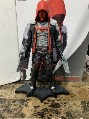 DC Collectibles Comics Batman Arkham City Knight Red Hood Statue Figure
