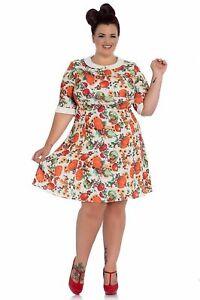 Autumn-Dress-Plus-Size-Hellbunny-Pumpkin-Squash-Midi-Dress-18-20-22-acorn-Skater