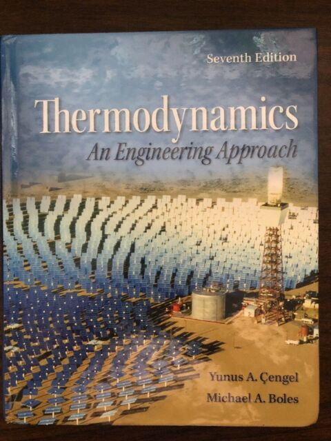 Thermodynamics Yunus Cengel 7th Edition Pdf