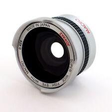 HD Wide Angle 0.42X Fisheye Lens for Sony Handycam DCR-HC26,HC28,HC32,NEW,USA