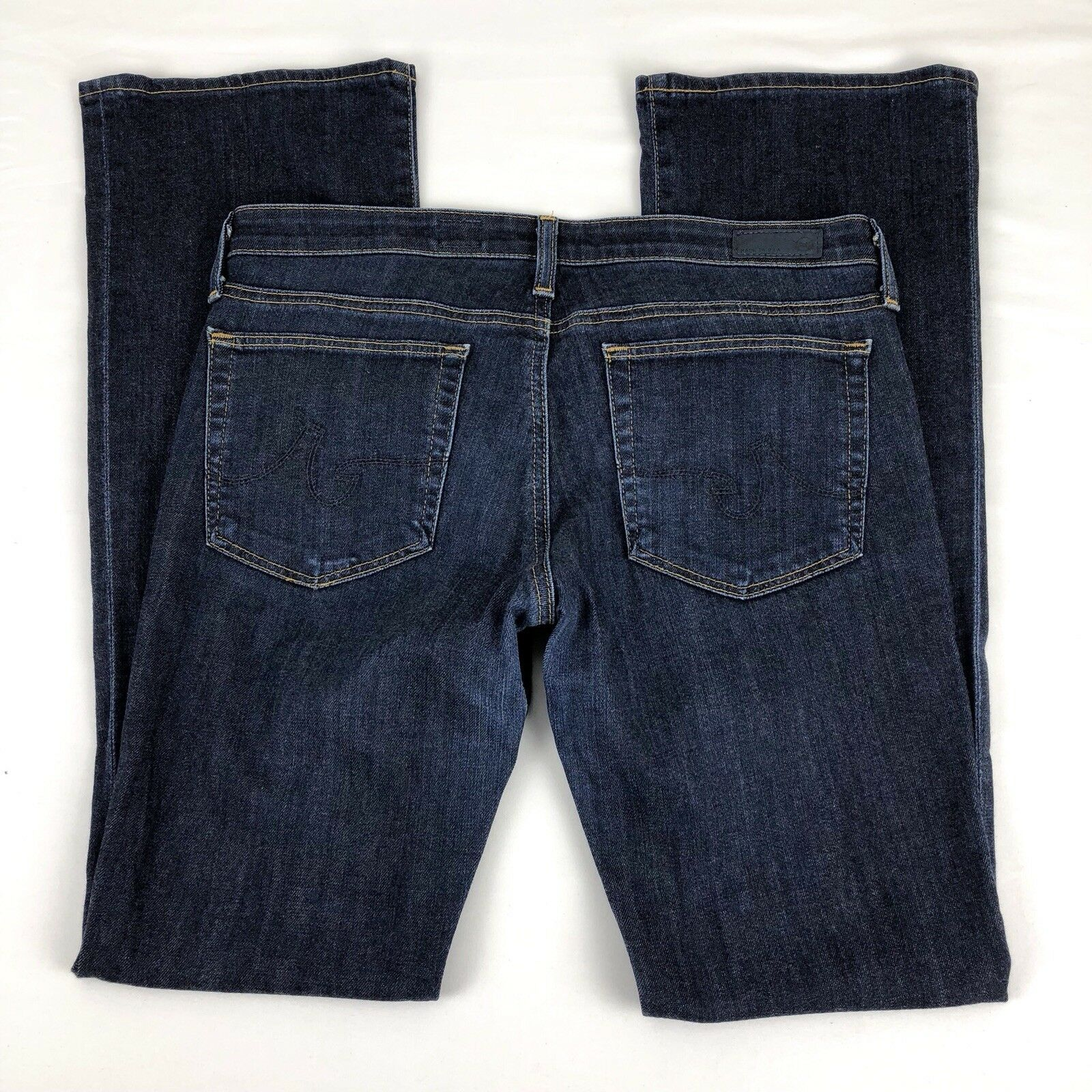 AG Adriano Womens The Olivia Skinny Boot Cut Mid Rise Denim Jeans - Size 30 R
