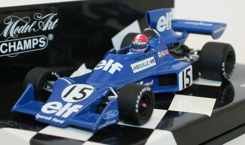 Minichamps 400 750015 Diecast F1 Model Car - Tyrrell Ford 007 Jabouille 1975