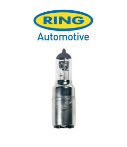 Ring - 12v 35/35w BA20d - Halogen - Motorcycle Headlight Bulb - RMU417