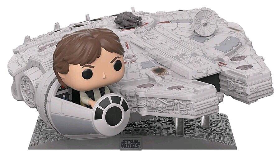 Star Wars - Han Solo Millennium Falcon US Exclusive Pop  Deluxe