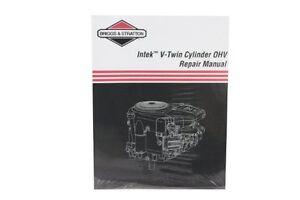 briggs stratton 273521 intek v twin ohv repair manual new free rh ebay com 12H802 Manual Repair Manuals Yale Forklift