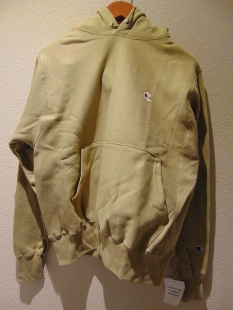 b100558f8405 Brand NEW Champion x Urban Outfitters Reverse Weave Icon Hoodie ~ Small ~  Taupe
