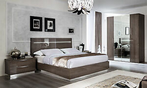 ... Jung Modern Schlafzimmer Set Platinum Silver Birke Stilmoebel