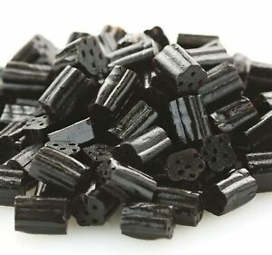 BLACK LICORICE CANDY BITES - FRESH & BEST PRICE - 1/4LB to 10LBS BULK -FREE SHIP