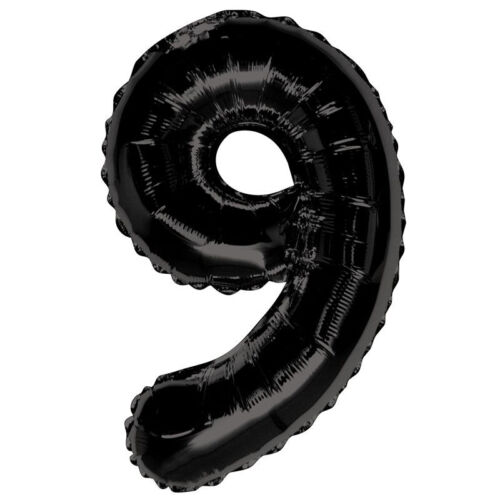 """32/"""" Numbers 0-9 Giant Foil Balloons Number Helium Air Balloon Glitz Birthday Dec"""