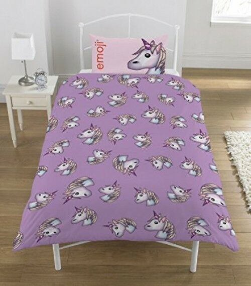 Unicorn single Duvet Set, purplec