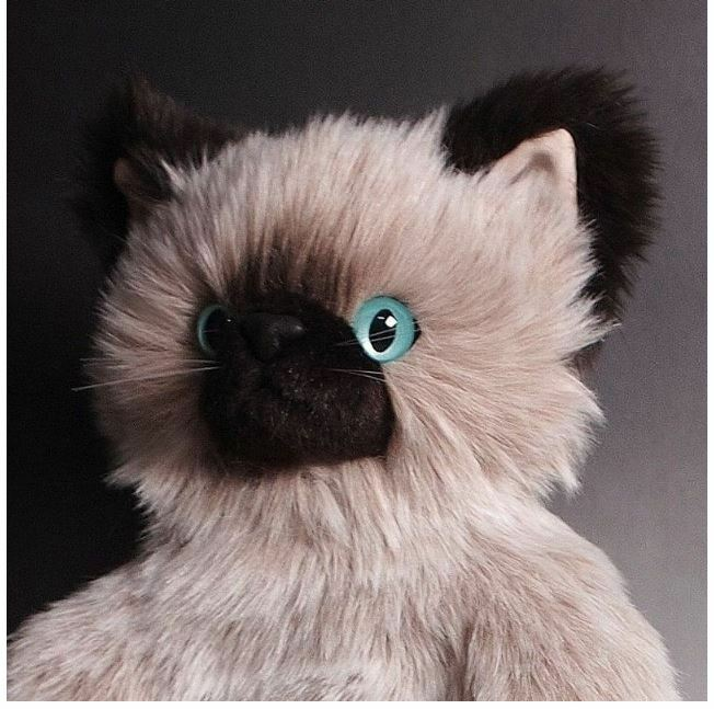 Cat Stuffed Plush Toy blu eyes Japan Japan Japan Animal grande Gorgeous 39cm 15.3in f102cd