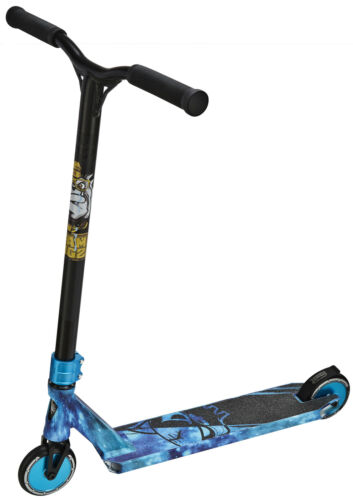 Pro X Scooter Ultimate Galaxy Blue /& Black Team Dogz Espace Enfants Stunt Pousser
