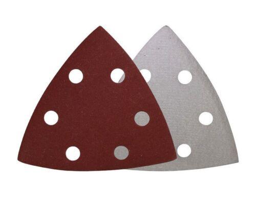 200x Haft-Schleifblätter K240 93 mm Deltaschleifer Klett Dreiecke
