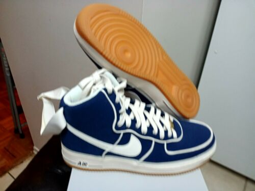 Men/'s Nike Air Force 1 High /'07 LV8 Binary Blue//Sail-Black 806403 401 10.5-11.5