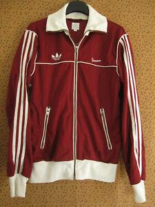 Veste Adidas Vespa Originals Bordeaux Jacket Homme style vintage Trefoil - S