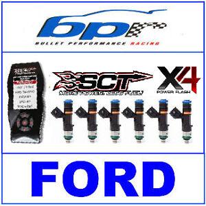 Details about FORD X4 FLASH TUNER + 6x 850cc EV14 BOSCH INJECTORS BA BF  XR6T Turbo FPV F6